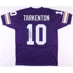 """Fran Tarkenton Signed Minnesota Vikings Jersey Inscribed """"HOF 86"""" (JSA COA)"""