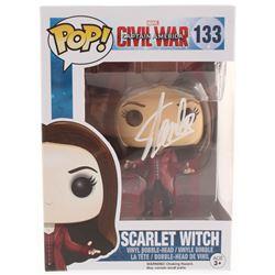 "Stan Lee Signed ""Captain America: Civil War"" Scarlet Witch #133 Funko Pop! Vinyl Figure (Radtke COA"