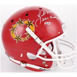 "Herschel Walker Signed New Jersey Generals Full-Size Helmet Inscribed ""2411 Rushing Yds 1985"" (Becke"