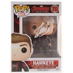 "Stan Lee Signed ""Avengers: Age of Ultron"" Hawkeye #70 Funko Pop! Vinyl Figure (Radtke COA  Lee Holog"