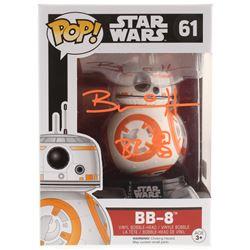 "Brian Herring Signed ""Star Wars"" BB-8 #61 Funko POP! Vinyl Figure Inscribed ""BB-8"" with Hand-Drawn B"