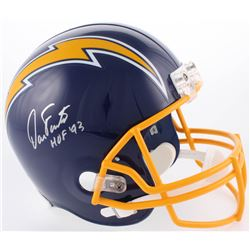 "Dan Fouts Signed San Diego Chargers Full-Size Throwback Helmet Inscribed ""HOF '93"" (JSA COA)"