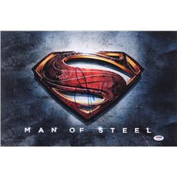 Zack Snyder Signed  Man of Steel  12x18 Photo (PSA COA)