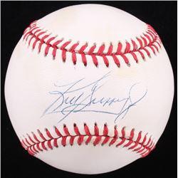 Ken Griffey Jr. Signed OAL Baseball (JSA COA)