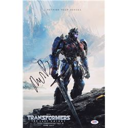 "Michael Bay Signed ""Transformers"" 11x17 Movie Poster (PSA COA)"