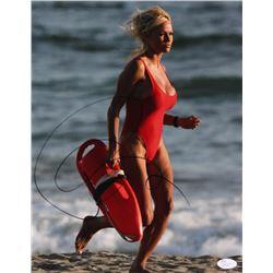 "Pamela Anderson Signed ""Baywatch"" 11x14 Photo (Beckett COA)"