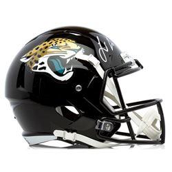 Leonard Fournette Signed Jacksonville Jaguars Full-Size Speed Helmet (Panini COA)