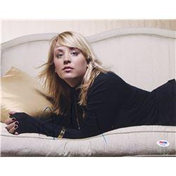 Kaley Cuoco Signed 11x14 Photo (PSA COA)