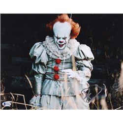 """Bill Skarsgard Signed """"IT"""" 11x14 Photo (Beckett Hologram)"""