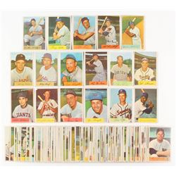 Lot of (99) 1954 Bowman Baseball Cards with #45 Ralph Kiner, #50 George Kell, #62 Enos Slaughter, #1