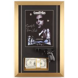 "Henry Hill Signed ""Goodfellas"" 14.5x22 Custom Framed Print Inscribed ""Goodfella"" with Replica Prop M"