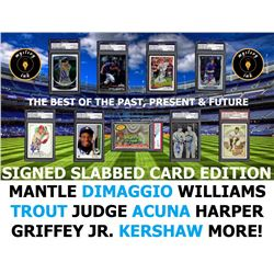 Mystery Ink Signed And Slabbed Card Mystery Box Edition! 1 Hall of Fame / Star Signed Card In Every