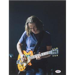 """Stone Gossard Signed """"Pearl Jam"""" 11x14 Photo (PSA COA)"""