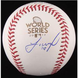 Jose Altuve Signed 2017 World Series Baseball (JSA COA)