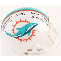 "Kenyan Drake Signed Miami Dolphins Full-Size Authentic On-Field Helmet Inscribed ""Miracle In Miami"""