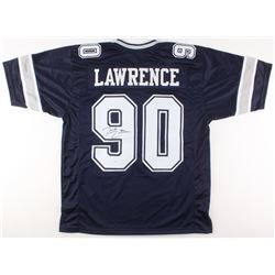 DeMarcus Lawrence Signed Dallas Cowboys Jersey (JSA COA)
