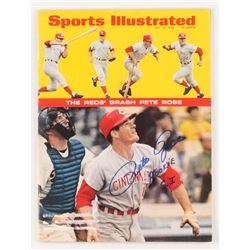 "Pete Rose Signed Sports Illustrated Magazine Inscribed ""Rookie S.I."" (JSA COA)"