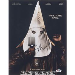 "Spike Lee Signed ""BlacKkKlansman"" 11x14 Photo (PSA COA)"