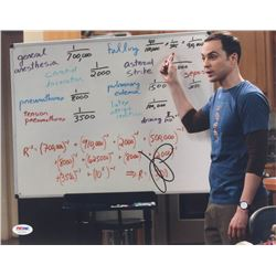 "Jim Parsons Signed ""The Big Bang Theory"" 11x14 Photo (PSA COA)"