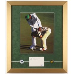 "Ben Crenshaw Signed ""The Masters"" 16x19 Custom Framed Cut Display (PSA COA)"