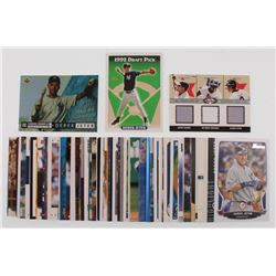Lot of (75) Derek Jeter Baseball Cards with 1993 Topps #98 RC, 1994 Upper Deck #550,  2003 Fleer Box