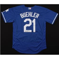 Walker Buehler Signed Los Angeles Dodgers Jersey (PSA COA)