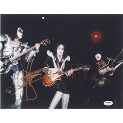 "Gene Simmons Signed ""KISS"" 11x14 Photo (PSA COA)"