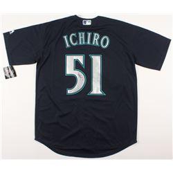 Ichiro Suzuki Signed Seattle Mariners Jersey (PSA COA)
