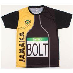 Usain Bolt Signed Rio 2016 Olympic Track  Field Jersey (PSA COA)