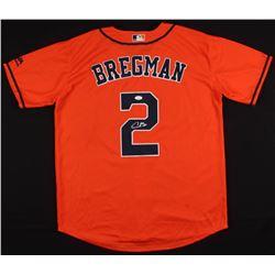 Alex Bregman Signed Houston Astros Jersey (JSA COA)