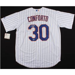 Michael Conforto Signed New York Mets Jersey (Beckett COA)