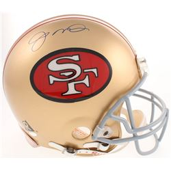Joe Montana Signed San Francisco 49ers Full-Size Pro-Line Helmet (Steiner COA)