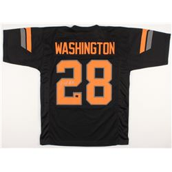 James Washington Signed Oklahoma State Cowboys Jersey (Washington Hologram)