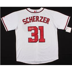 Max Scherzer Signed Washington Nationals Jersey (Beckett COA)