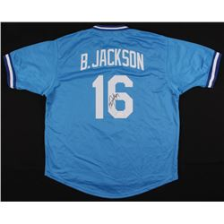 Bo Jackson Signed Kansas City Royals Jersey (JSA COA)