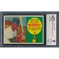 1960 Topps #316 Willie McCovey RC (BCCG 9)