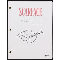"Steven Bauer Signed ""Scarface"" Full Movie Script (Beckett COA)"