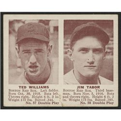 1941 Double Play #57 Ted Williams / Jim Tabor
