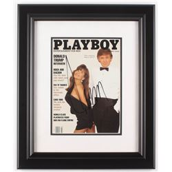 "Donald Trump Signed 15.5"" x 18.5"" Custom Framed Playboy Magazine Display (JSA LOA)"