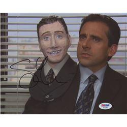"Steve Carell Signed ""The Office"" 8x10 Photo (PSA COA)"