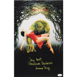 "Adrienne Barbeau Signed ""Swamp Thing"" 11x17 Photo Inscribed ""My Best""  ""Swamp Thing"" (JSA COA)"