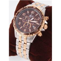 Brandt  Hoffman Pythagoras Men's Swiss Chronograph Watch