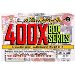 """MYSTERY 400X SERIES"" A True Sports Card Mystery Box!"