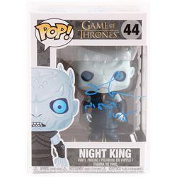 "Richard Blake Signed ""Night King: Game of Thrones"" #44 Funko Pop Vinyl Figure Inscribed ""Night King"""