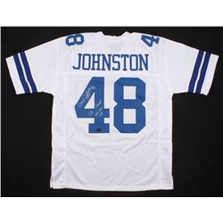 "Daryl Johnston Signed Dallas Cowboys Jersey Inscribed ""Moose""  ""SB XXVII, XXVIII, XXX"" (Radtke COA)"