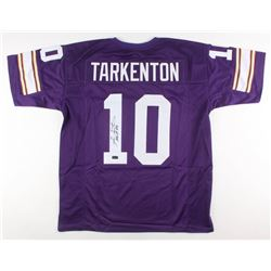 "Fran Tarkenton Signed Minnesota Vikings Jersey Inscribed ""HOF 86"" (Radtke COA)"