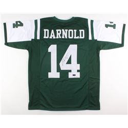 Sam Darnold Signed New York Jets Jersey (Radtke COA)