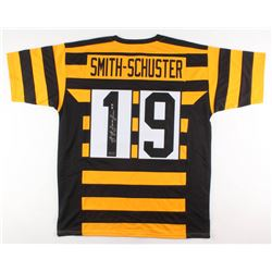 JuJu Smith-Schuster Signed Pittsburgh Steelers Throwback Jersey (Radtke COA)