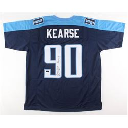 Jevon Kearse Signed Tennessee Titans Jersey Inscribed  The Freak  (Radtke COA)
