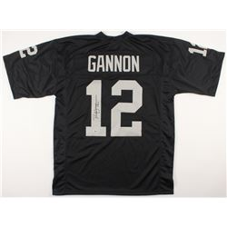 Rich Gannon Signed Oakland Raiders Jersey (Beckett COA)